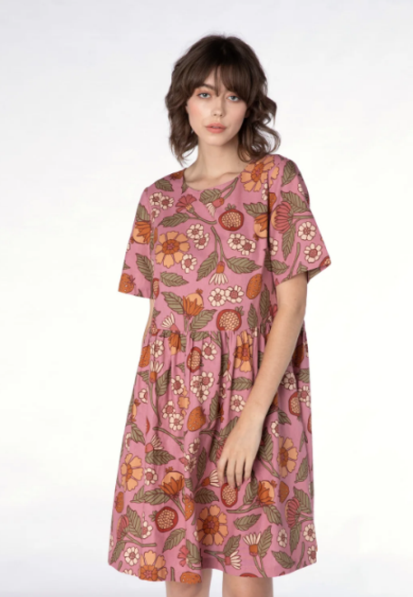 Fruits & Flora Smock Dress