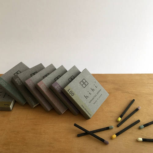 Japanese incense Hibi range