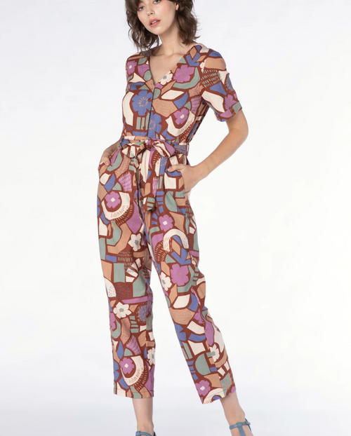 Sweet Geo Jumpsuit