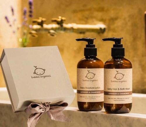 Baby Bath and Body Gift Box