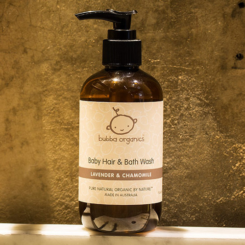 Baby Hair & Bath Wash 250ml