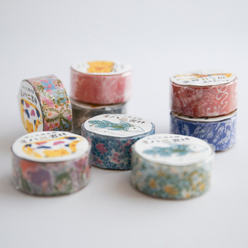 assorted japanese washi tapes