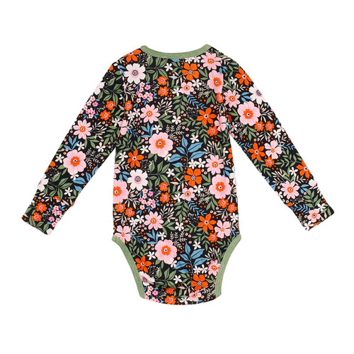 G+A Bloom Long Sleeve Body Suit