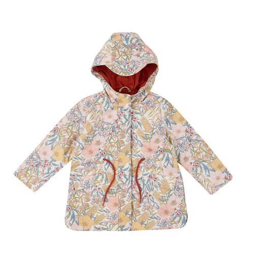 G+A Vintage Floral Rain Coat