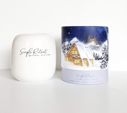 Alpine Chalet Candle