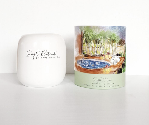 Oriental Spa Candle