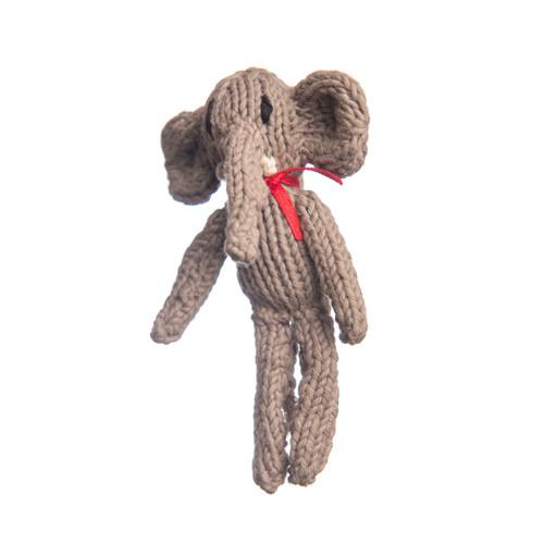 Organic cotton elephant toy
