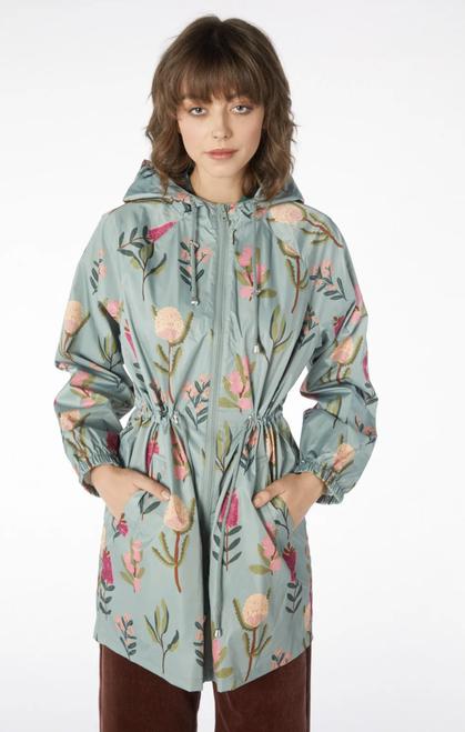 Bella Native Long Raincoat