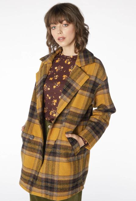 Jeanie Coat-Yellow