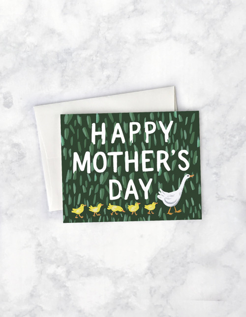 Mother's Day - Mother Goose Card