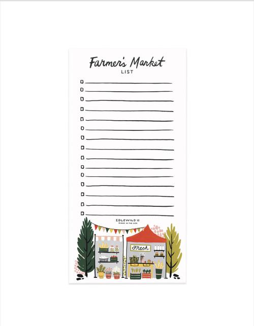 Market List - Farmer's Market
