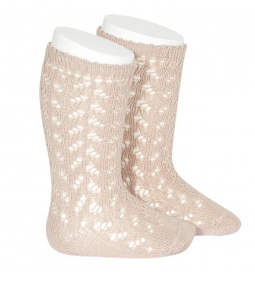 Openwork Knee High Socks 2593/2