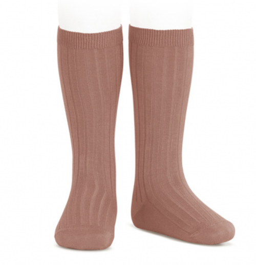 Rib Knee High Sock