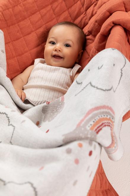 Indus Baby Blanket