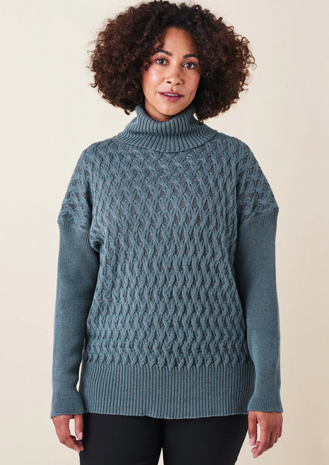 Claudia Cable Plated Jumper