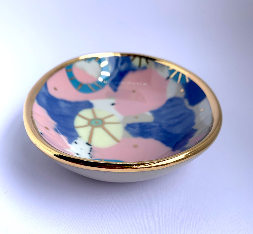 Ruby Pilven Small Oval Dish