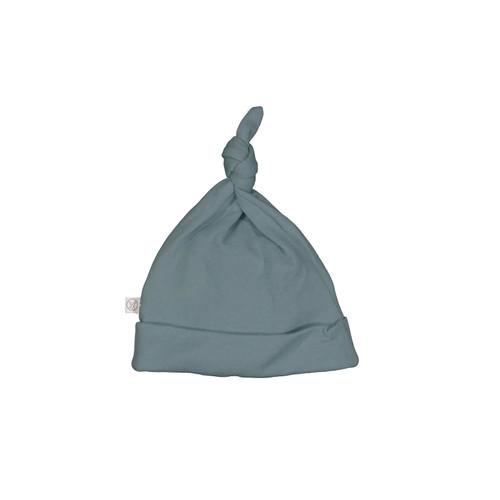 Merino/Bamboo Top Knot Hat