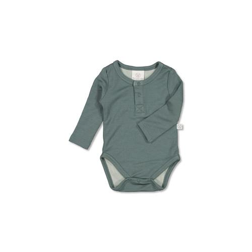 Henley Merino/Bamboo Bodysuit
