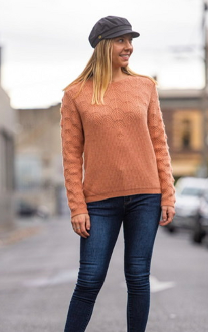 Laced Front Knit