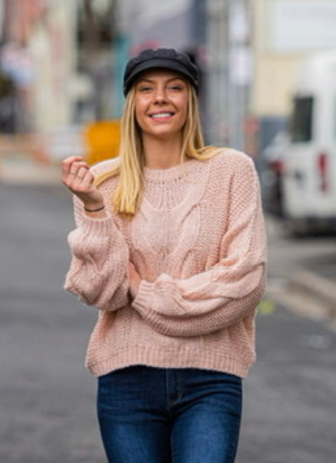 Floppy Cabled Knit