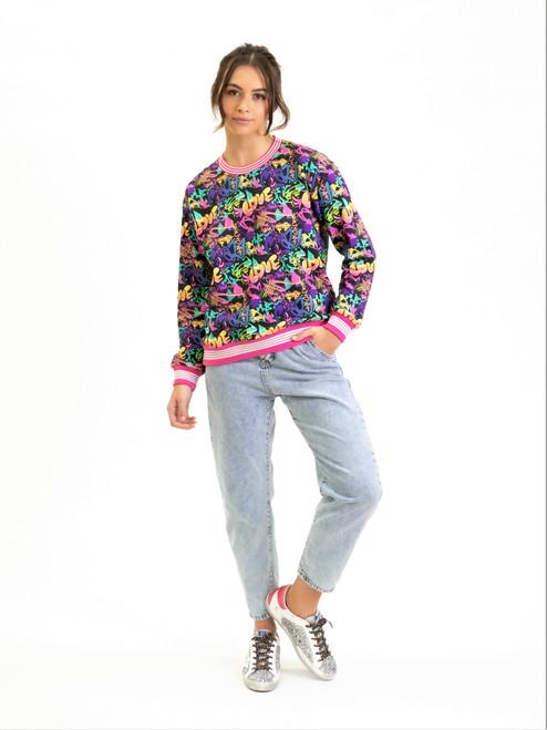 Graffiti Love Sweater
