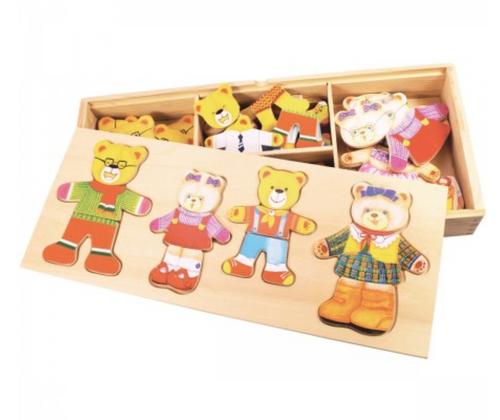 Bigjigs Toys - Bear Family Puzzle
