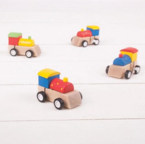 Bigjigs Toys - Clockwork Train