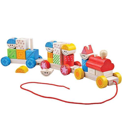 Bigjigs Toys - Big Build Up Train