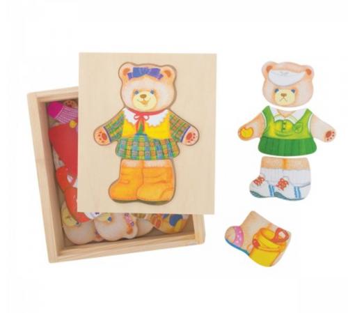 Bigjigs Toys - Mrs Bear Puzzle