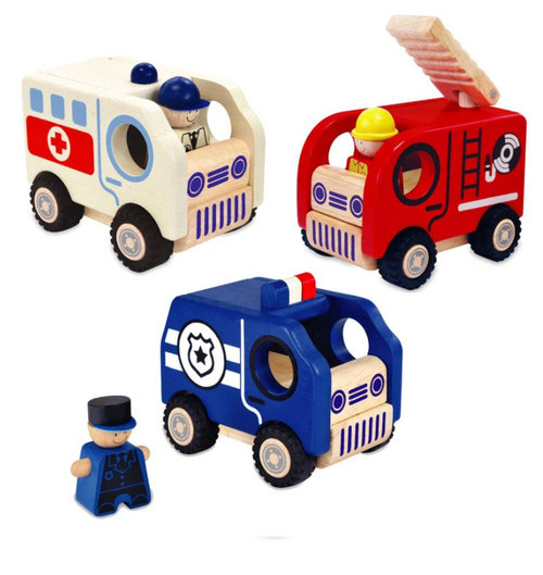 I'm Toy - City And Service Vehicles