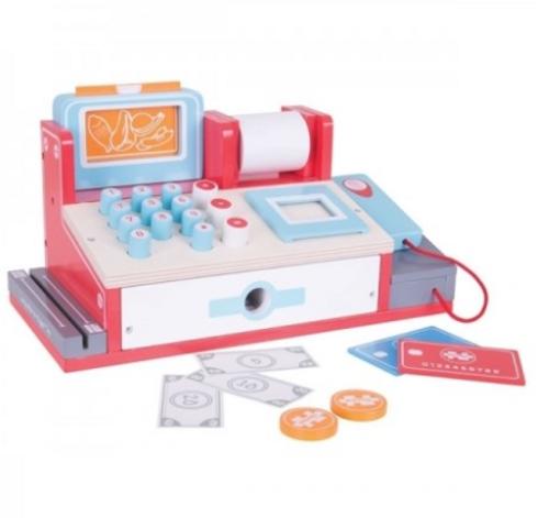 Bigjigs Toys - Shop Till with Scanner