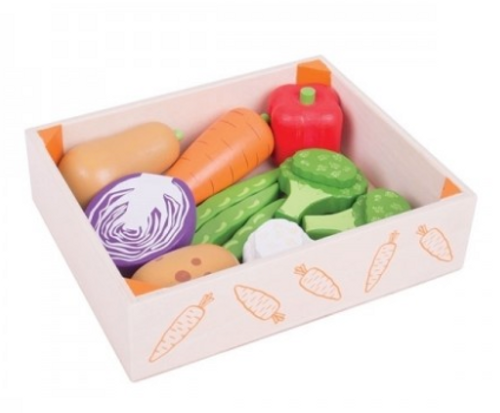 Bigjigs Toys - Vegetable Crate
