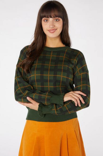 Claudia Check Sweater