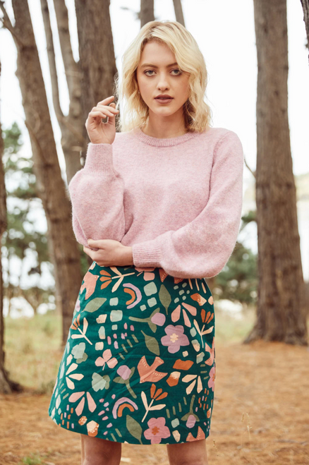 Hazel Geo Skirt