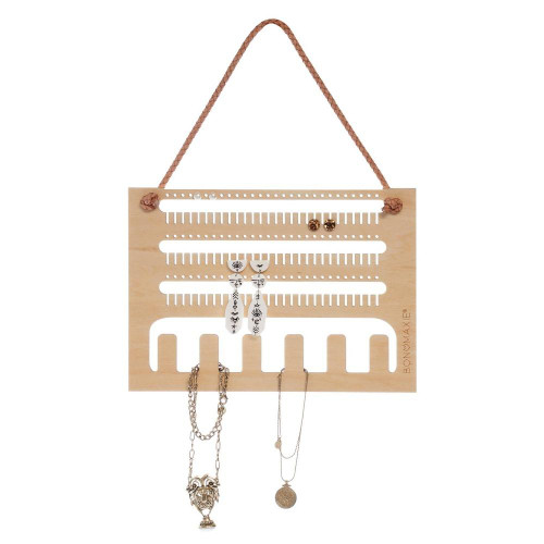 Earring and Necklace Wall Hanger