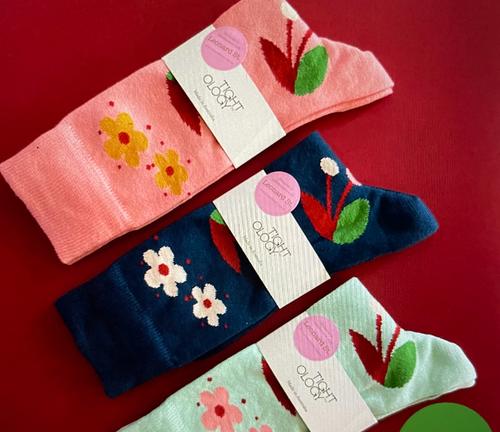 Cherry Socks
