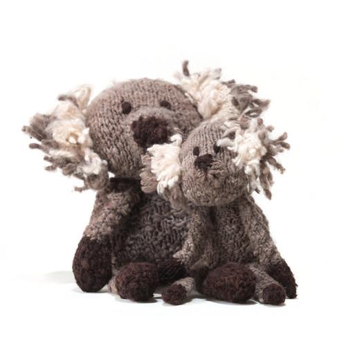 Hand knitted koala, Kenana Knitters