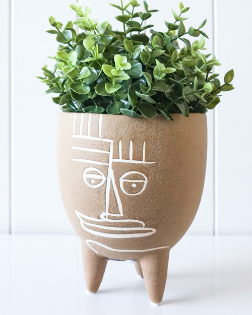 Footed Pot/Planter - Picasso - HG125
