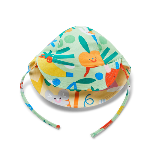 Reversible Hat - Friends with Salad