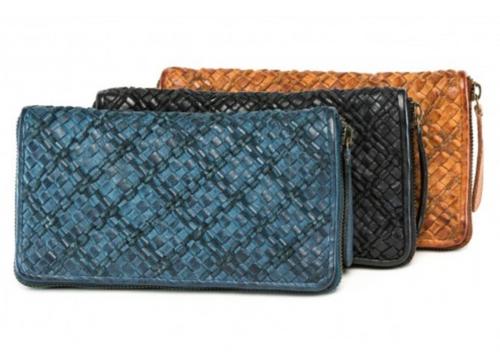 Grape Leather Wallet