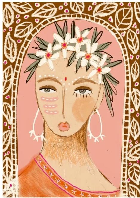 Devi Art Print - A3