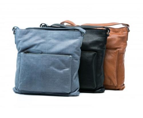 Almond Leather Bag