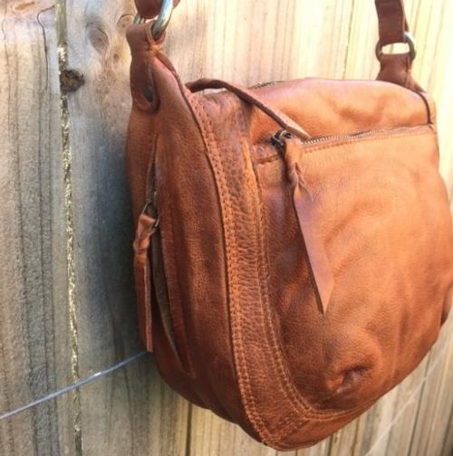 Jasmine Leather Bag - Black