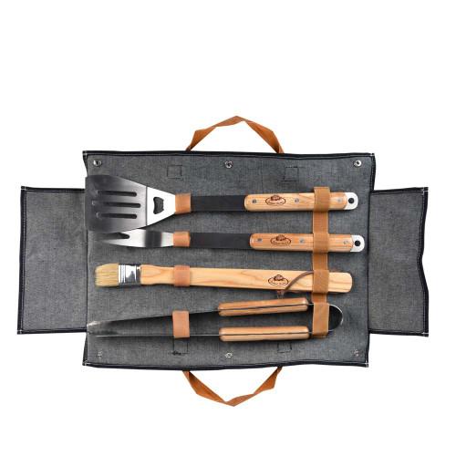BBQ Tool Set - Denim