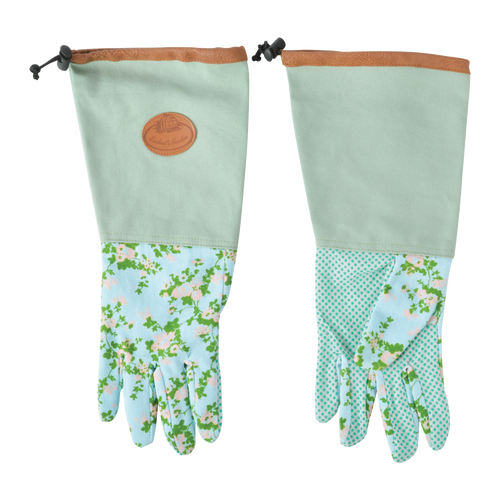 Garden Glove - Long - Rose Print