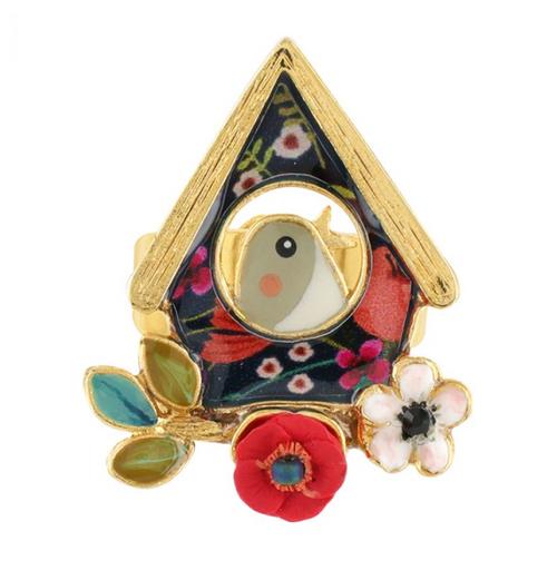 Rito Birdhouse Ring   09417