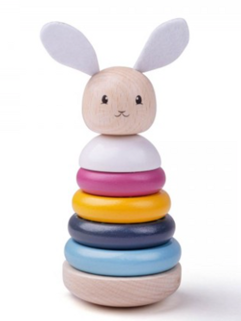 Bigjigs Toys - FSC Rabbit Stacking Rings