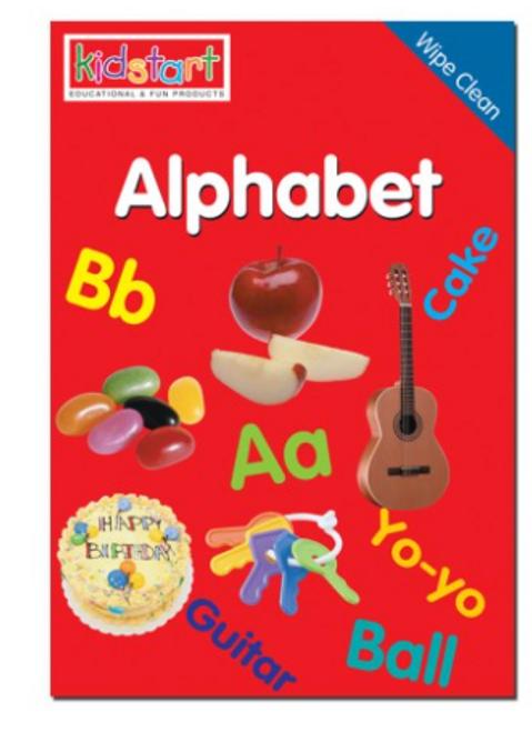 Kidstart - Wipe Clean Book
