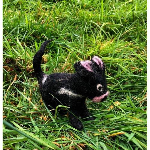 Felt Tasmanian Devil toy