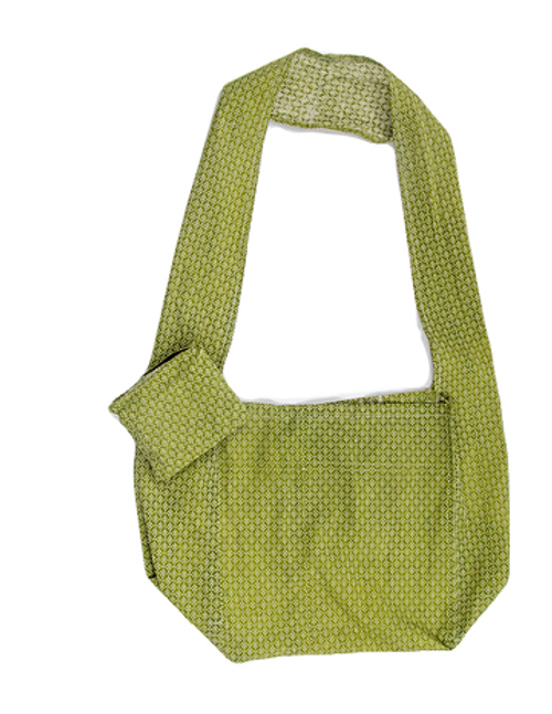 green eco friendly flora bag